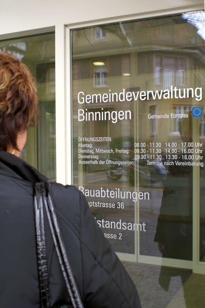 Axians Ruf AG – Service Desk: Gemeindeverwaltung Binningen
