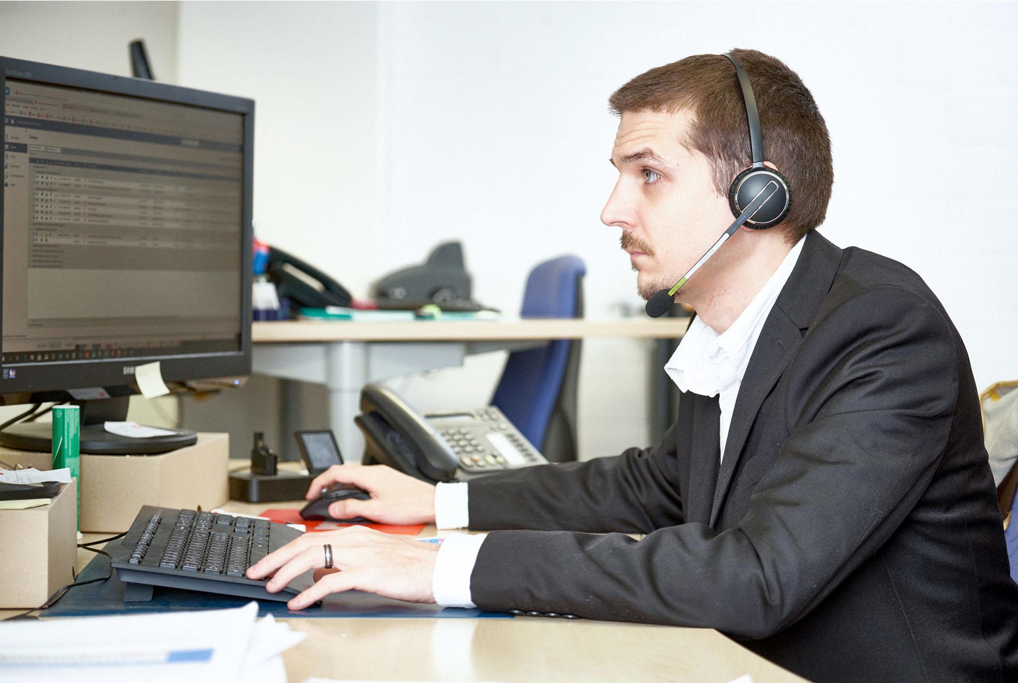 Zufriedene Service Desk Kunden