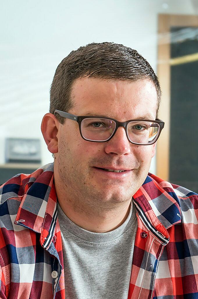 Sandro Kalbermatten, Gemeindeschreiber Saas-Grund